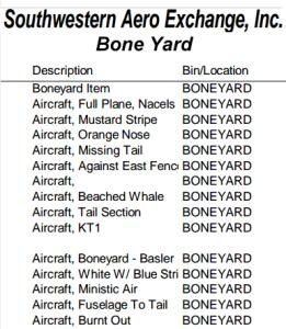 SWAE Bone Yard